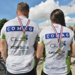 Pedal power raises £000s for charity