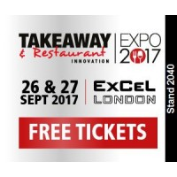 We're exhibiting at the Takeaway & Restaurant Expo 2017!